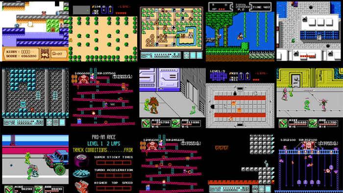 salvapantallas para Windows 10 NES