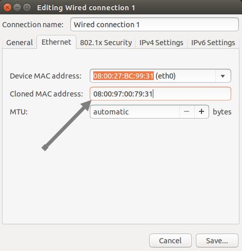 Cómo cambiar la dirección MAC en Windows y Ubuntu