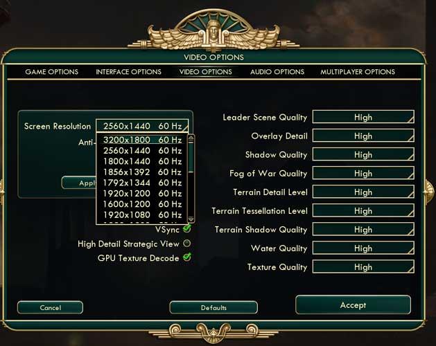 Descenso de muestreo: Cómo overclockear la resolución de la pantalla para los juegos