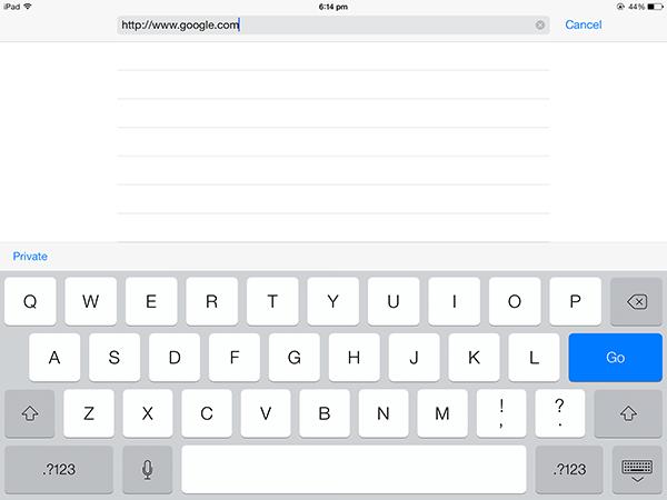 Guardar fácilmente la página web como PDF en tu iPad