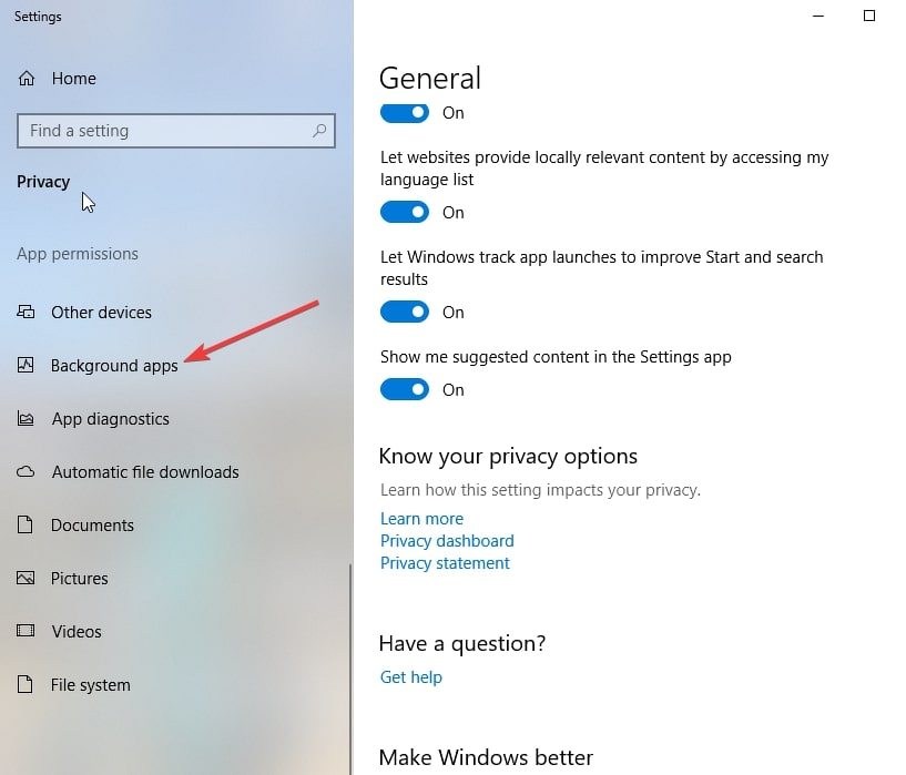 Desactivar Microsoft Edge 4