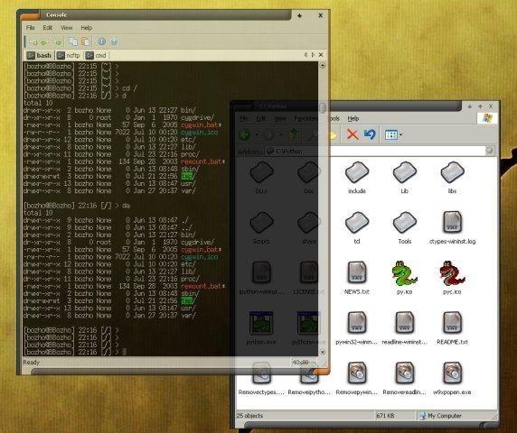 emulador de terminal para Windows 10 consola