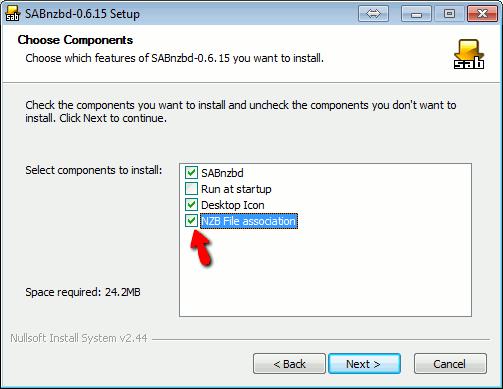 Guía de instalación SABnzbd paso 1
