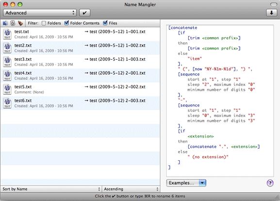 2 maneras de renombrar archivos por lotes en OS X