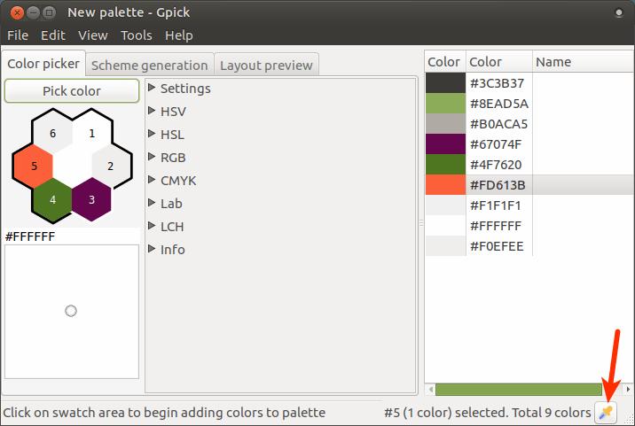 3 herramientas gratuitas de selección de colores para escritorios Linux