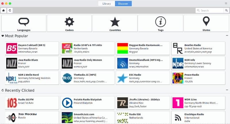 4 Aplicaciones para escuchar estaciones de radio por Internet en Linux