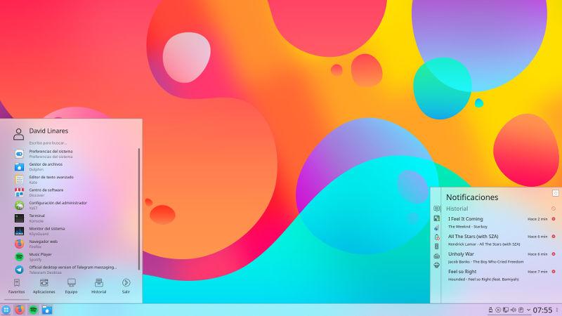 7 de los mejores temas de plasma de KDE para Linux