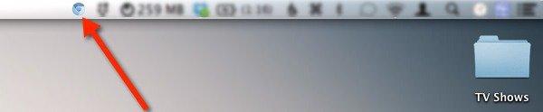 Cambiar rápidamente el navegador predeterminado en Mac Desde la barra de menús
