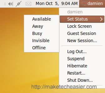 Capturas de pantalla de Ubuntu Karmic Koala 9.10 Beta