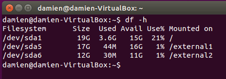 Combine fácilmente múltiples particiones en una con mhddfs en Linux