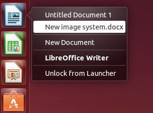 Cómo añadir listas rápidas de archivos recientes en Ubuntu Unity Launcher