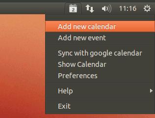 Cómo añadir (y eliminar) eventos a Google Calendar desde la bandeja del sistema[Ubuntu].