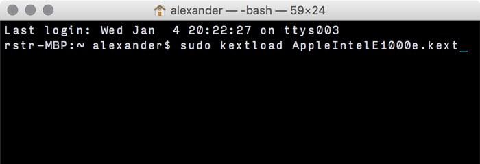 Cómo añadir y eliminar Kexts de macOS