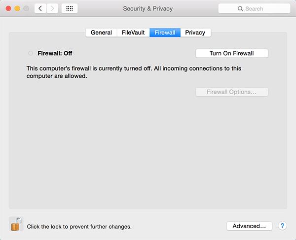 Cómo activar el modo oculto en el cortafuegos de tu Mac