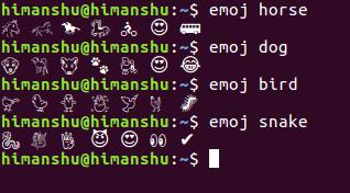Cómo buscar rápidamente Emoji desde la línea de comandos de Linux