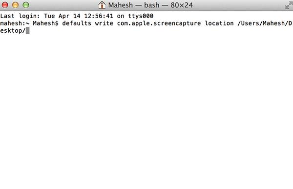 Cómo cambiar la carpeta de captura de pantalla en tu Mac