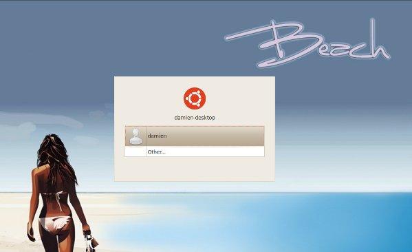 Cómo cambiar la pantalla de inicio de sesión y arranque en Ubuntu Lucid
