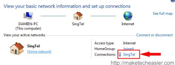 Cómo compartir una conexión inalámbrica 3G en Windows 7