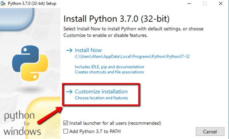 Cómo configurar Python en Windows 10