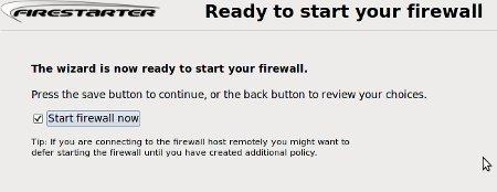 Cómo configurar un firewall en Linux usando Firestarter