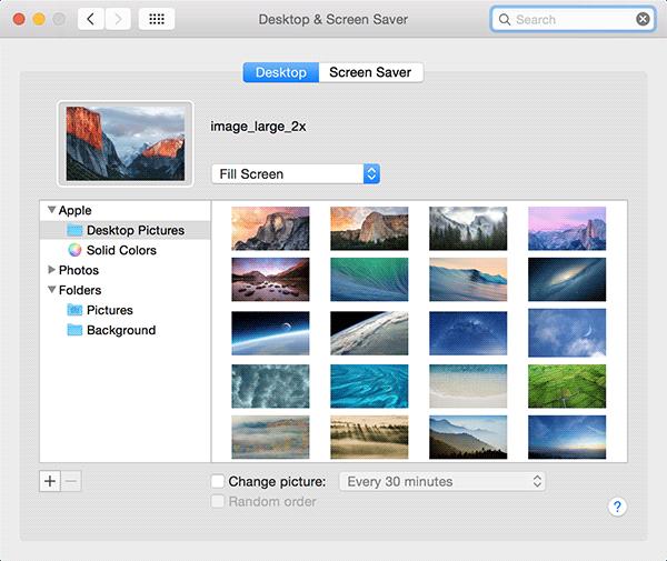 Cómo configurar un protector de pantalla como fondo de escritorio en tu Mac