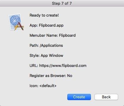 Cómo convertir los servicios web en aplicaciones Mac mediante Epichrome