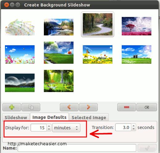 Cómo crear una presentación de diapositivas personalizada en Ubuntu