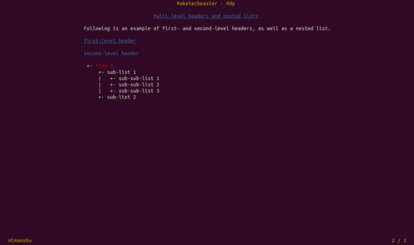 Cómo crear y ejecutar una presentación desde la línea de comandos de Linux