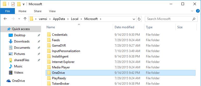 Cómo desinstalar la aplicación OneDrive en Windows 10