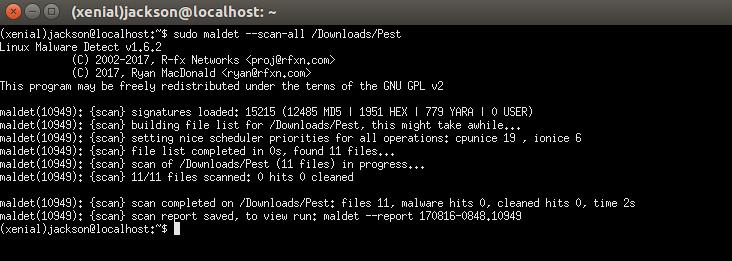 Cómo detectar y limpiar malware desde un servidor Linux con Maldet