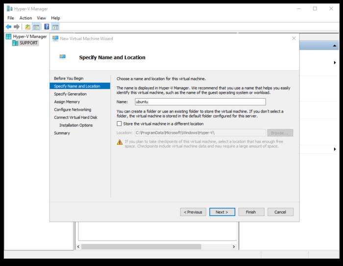 Cómo ejecutar Ubuntu en Windows 10 usando Hyper-V