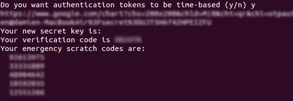 Cómo habilitar la autenticación de dos factores para la conexión SSH