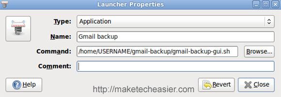 Cómo hacer copias de seguridad de Gmail en Ubuntu Intrepid