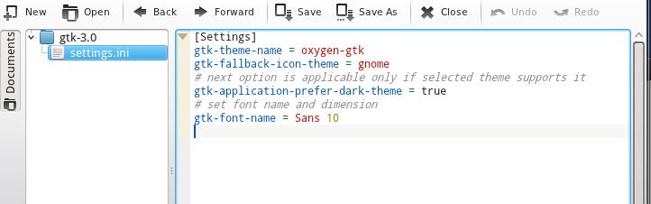 Cómo hacer que las aplicaciones GTK3 se vean presentables en KDE4