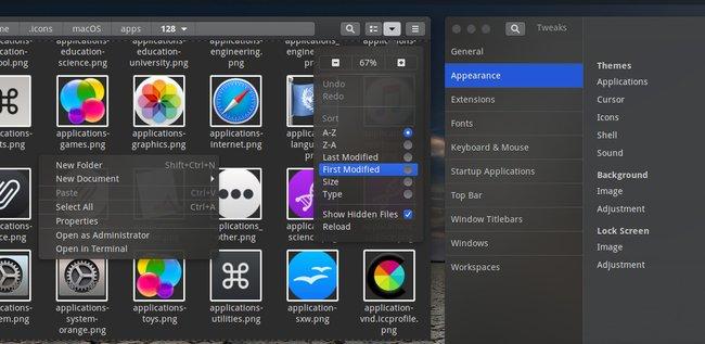 Cómo hacer que Ubuntu se parezca a MacOS Mojave 10.14