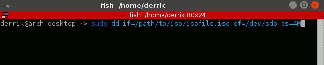 Cómo hacer un disco vivo USB Linux con el terminal