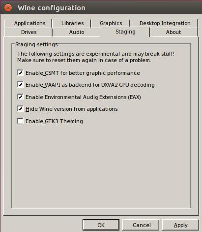 Cómo instalar Wine Staging en Ubuntu Linux