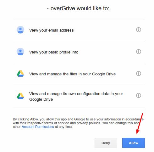 Cómo instalar y configurar Overgrive Google Drive Client en Linux