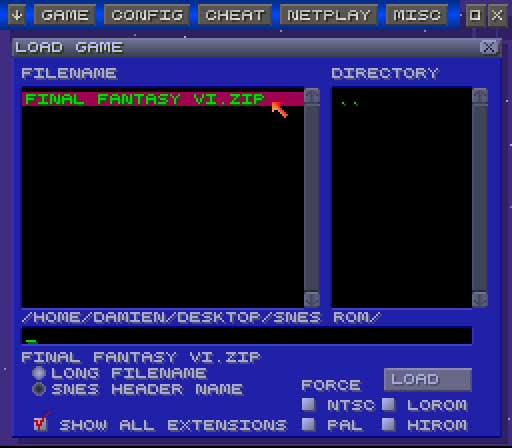 Cómo jugar al juego Super Nintendo (SNES) en Ubuntu Hardy