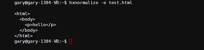 Cómo manipular archivos HTML y XML desde la línea de comandos