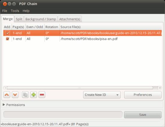 Cómo manipular PDFs con PDF Chain[Linux]