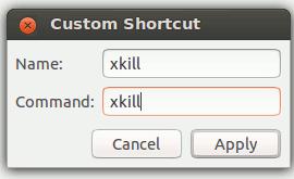 Cómo matar fácilmente una aplicación que no responde en Ubuntu