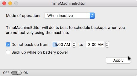 Cómo modificar el calendario de copias de seguridad de Time Machine para Mac