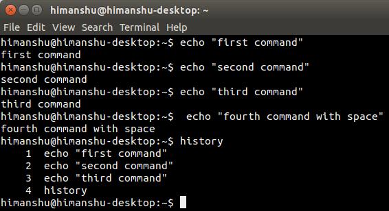 Cómo ocultar el historial de la línea de comandos de Linux de incógnito
