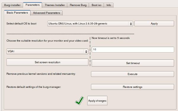 Cómo personalizar la pantalla de Grub con BURG Manager