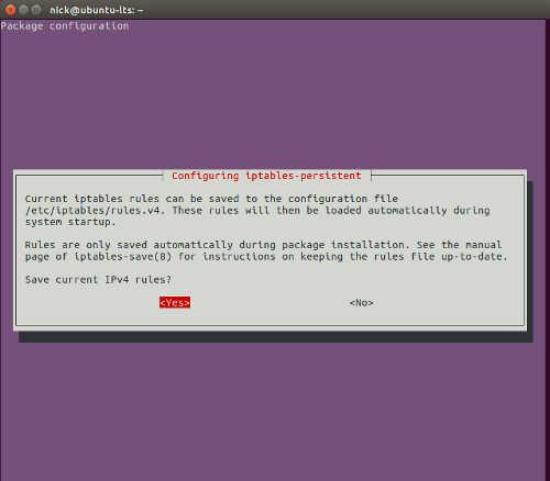Cómo proteger su escritorio Linux con Iptables