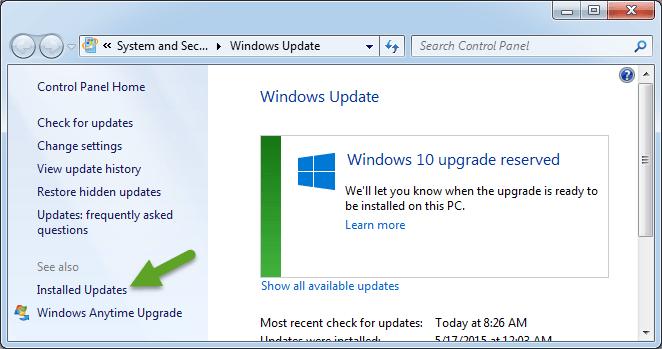 Cómo quitar el icono Obtener Windows 10 en Windows