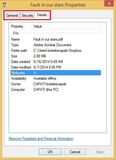 Cómo quitar los metadatos de Windows 8 para proteger su privacidad