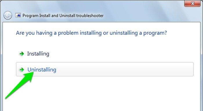 Cómo quitar un programa obstinado en Windows que simplemente no se va a ir
