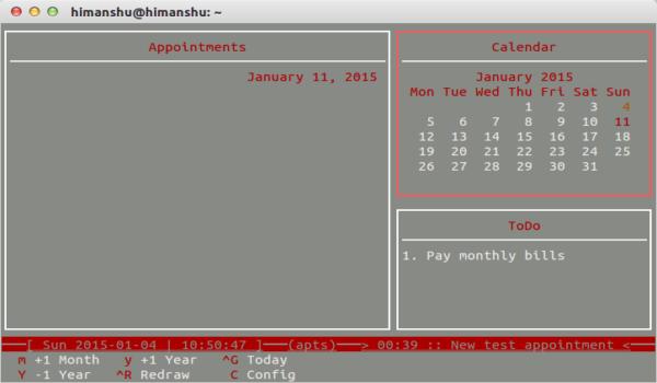Cómo realizar un seguimiento de eventos, citas y tareas diarias desde la línea de comandos de Linux